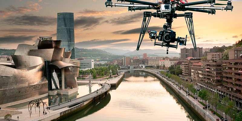 Fotografía y Filmación Aérea con Drones