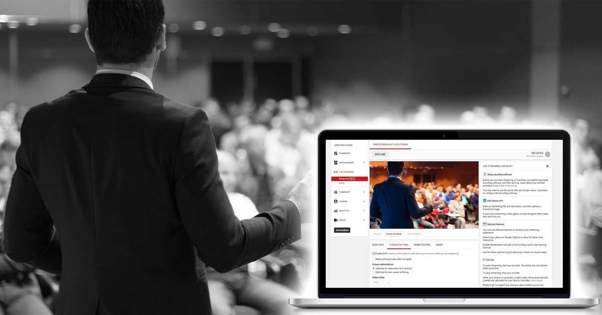 Conferencias transmitidas en directo