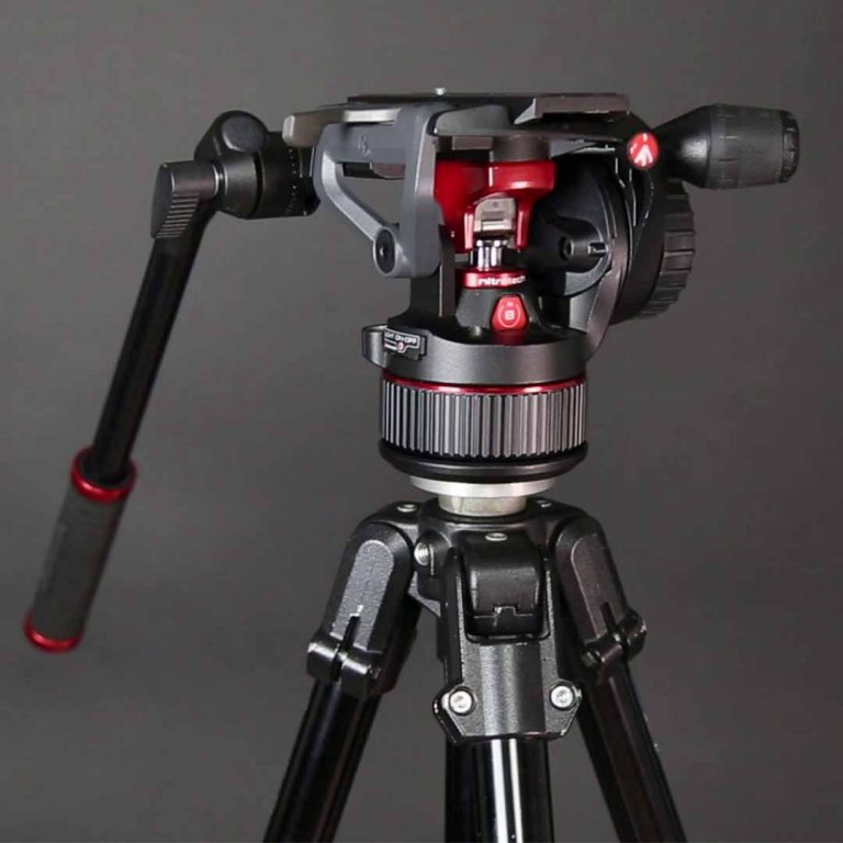 Manfrotto Nitrotech N8 - montaje en trípode o tripié