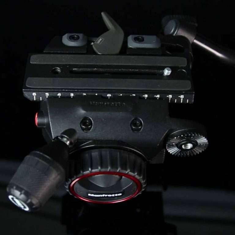 Manfrotto Nitrotech N8 - vista superior con zapata