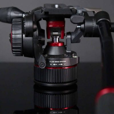 Manfrotto Nitrotech N8 - vista trasera con fluid drag system