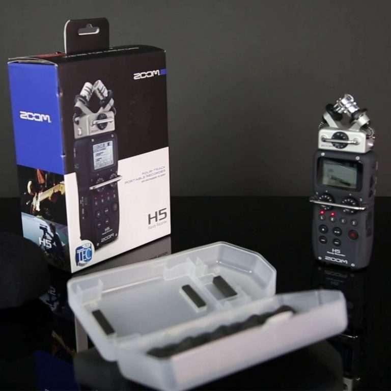 Unpacking y reseña de la grabadora de audio Zoom H5