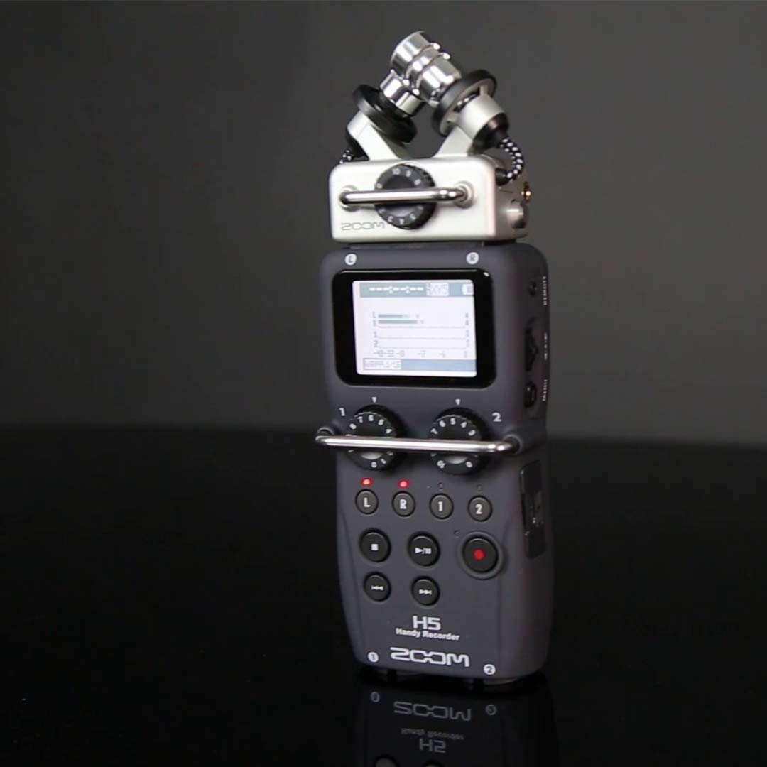 Zoom H5 - La mejor grabadora de campo portátil del mercado