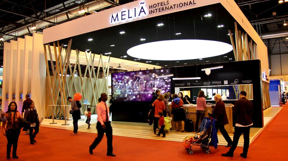 Stand de Melia en Feria FITUR