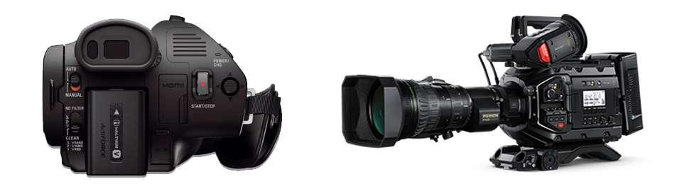 Videocámaras tipo camcorder para hacer streaming
