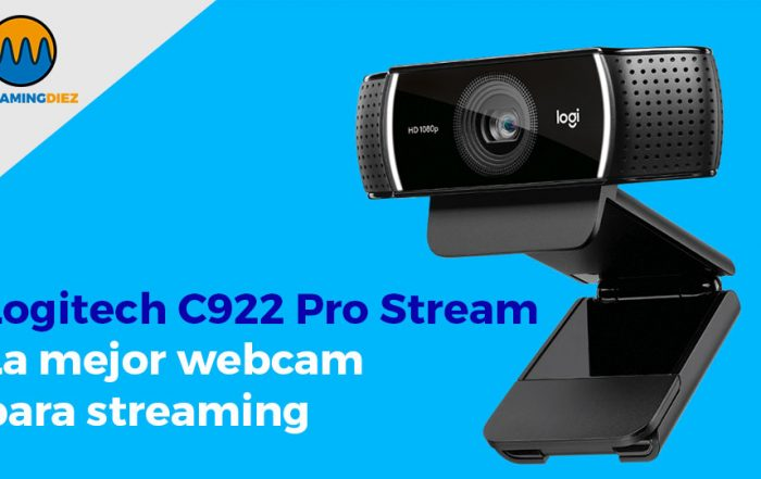 Logitech C922 Pro Stream Webcam -La mejor webcam para Streaming
