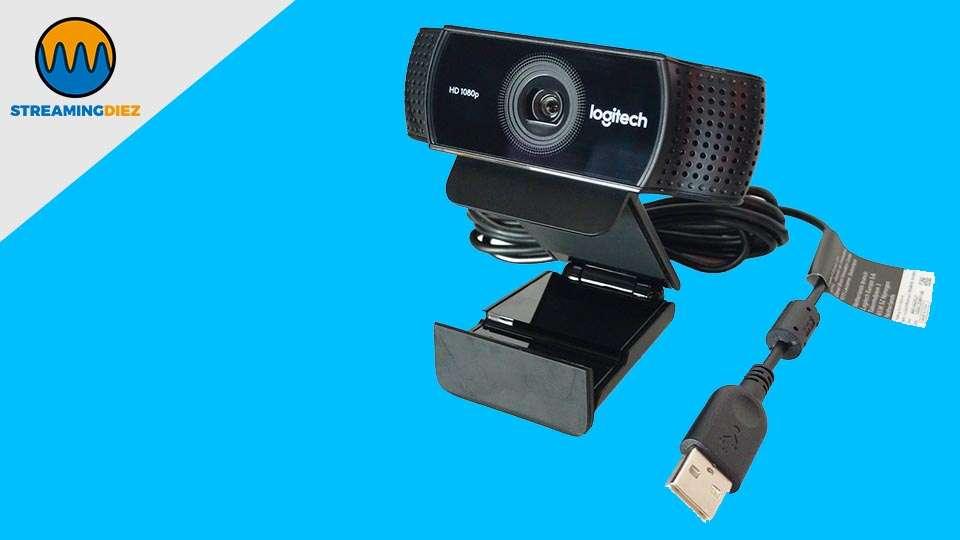 Logitech C922 Pro Stream Webcam - conexión USB