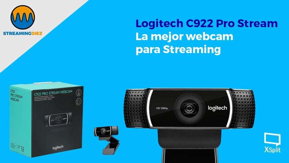 Logitech C922 Pro Stream Webcam - la webcam más completa