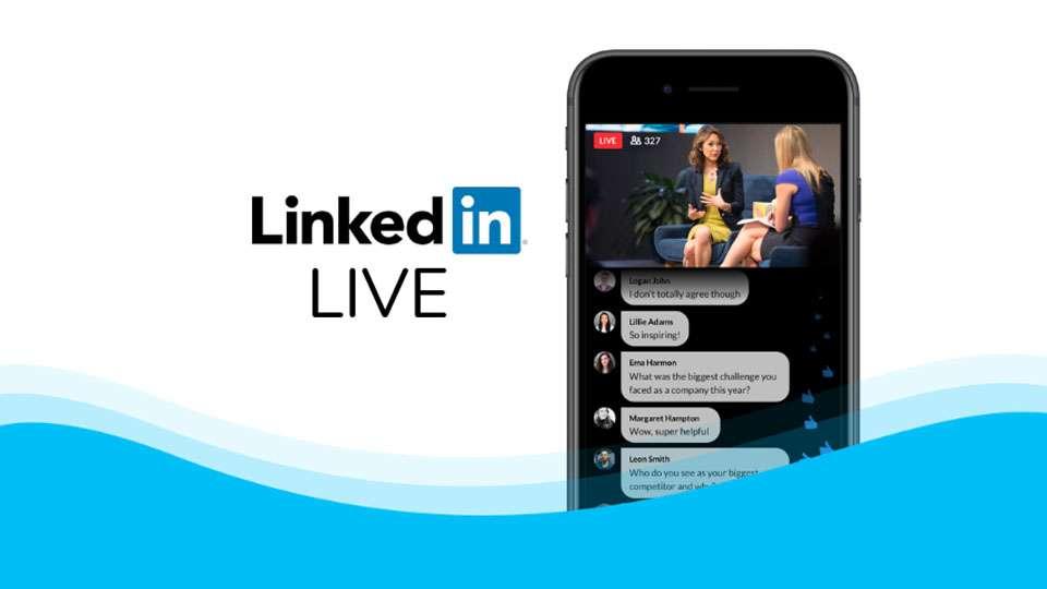 El vídeo en directo por streaming ha cobrado protagonismo y ya está disponible también en LinkedIn Live
