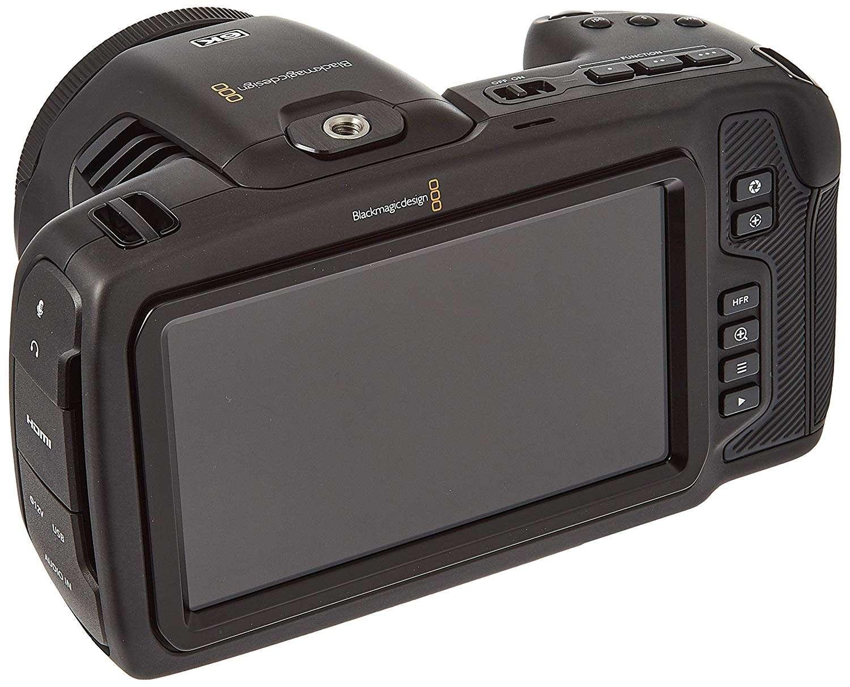 Blackmagic Pocket Cinema Camera 6K - pantalla trasera