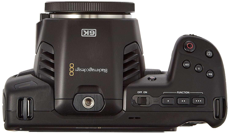 Blackmagic Pocket Cinema Camera 6K - vista superior
