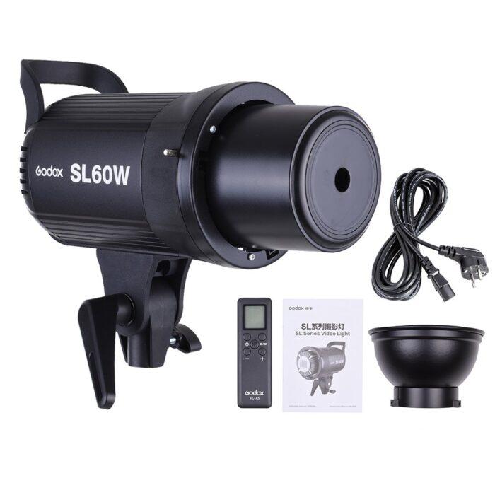 Godox sl-60 W con concentrador de luz