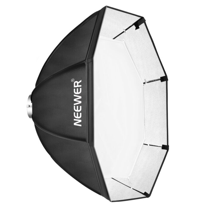 Neewer Speedlite Octagonal Softbox abierto