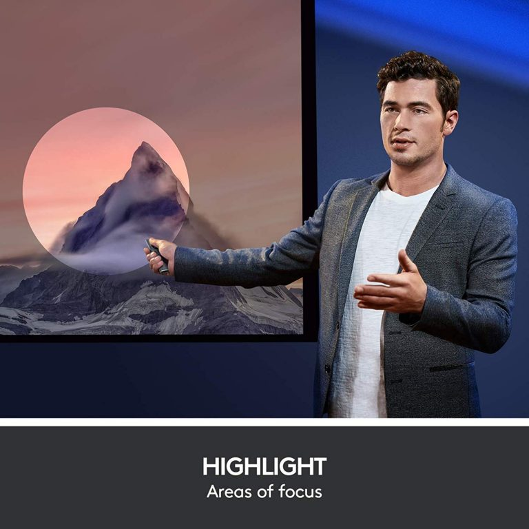 Control Remoto Inalámbrico Logitech Spotlight - resalta tu presentación