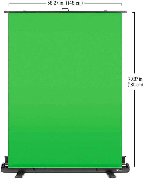 Elgato Green Screen - Panel Chromakey Plegable - medidas