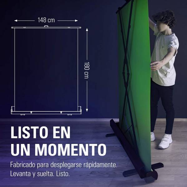 Elgato Green Screen - Panel Chromakey Plegable - montaje inmediato