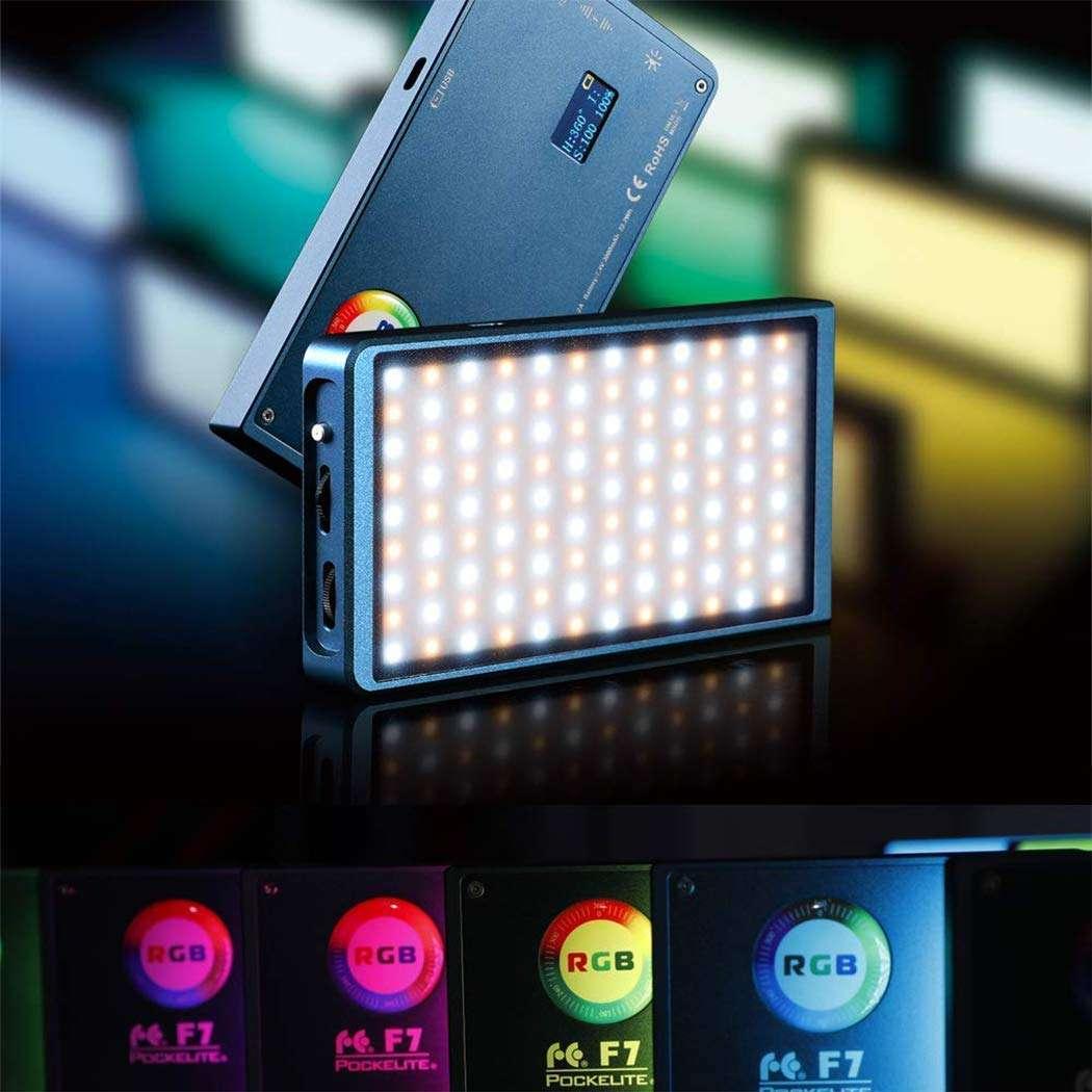 Falcon Eyes F7 RGB LED Video Light - efectos de luz RGB