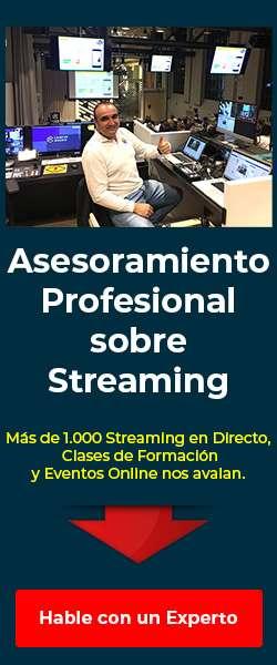 asesoramiento profesional sobre streaming