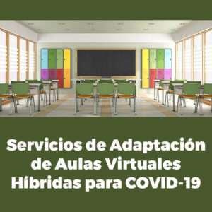 Consulte nuestros servicios de adaptación de aulas virtuales para COVID-19