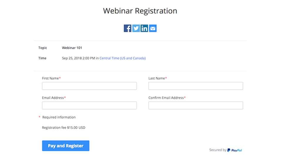 registro de participantes en webinar de zoom